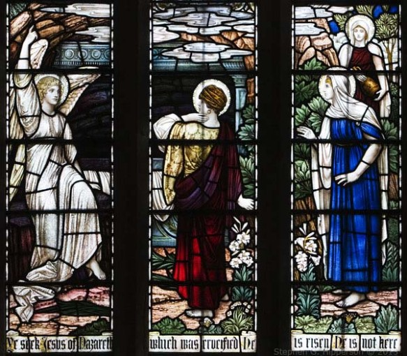 Stained Glass Wensley Church