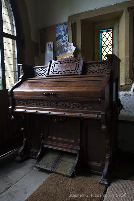 Pedal Organ St. Michael's Kirklington