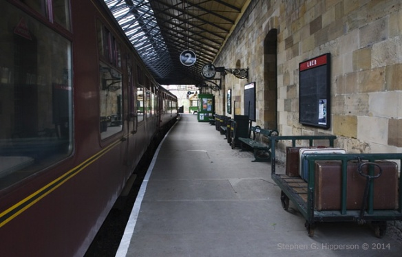 Platform 2 Pickering Station