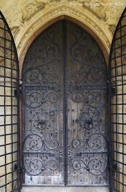 Door of Chiurch at Skelton near Newby Hall